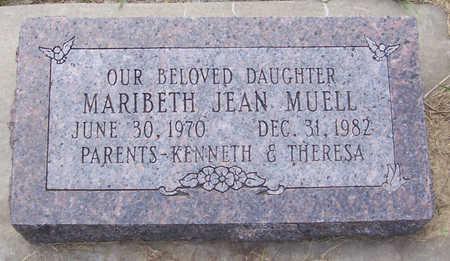 MUELL, MARIBETH JEAN - Shelby County, Iowa | MARIBETH JEAN MUELL