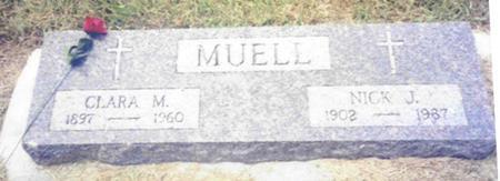 MUELL, NICK J. - Shelby County, Iowa | NICK J. MUELL