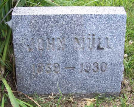 MULL, JOHN JOSEPH - Shelby County, Iowa | JOHN JOSEPH MULL