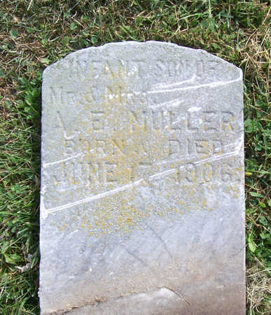 MULLER, INFANT SON - Shelby County, Iowa | INFANT SON MULLER
