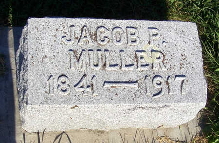 MULLER, JACOB P. - Shelby County, Iowa   JACOB P. MULLER