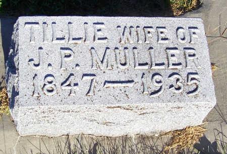 MULLER, TILLIE - Shelby County, Iowa | TILLIE MULLER