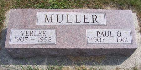 MULLER, PAUL O. - Shelby County, Iowa | PAUL O. MULLER