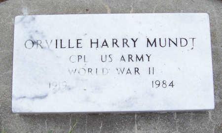 MUNDT, ORVILLE HARRY - Shelby County, Iowa | ORVILLE HARRY MUNDT