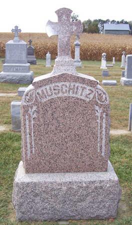 MUSCHITZ, GEORGE & MARIE (LOT) - Shelby County, Iowa   GEORGE & MARIE (LOT) MUSCHITZ