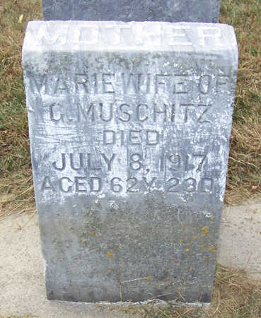 MUSCHITZ, MARIE (MOTHER) - Shelby County, Iowa | MARIE (MOTHER) MUSCHITZ