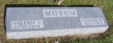 MUTUM, VALERIE L. - Shelby County, Iowa   VALERIE L. MUTUM