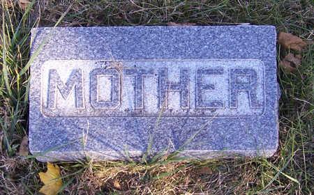 FRATT MYERS, DELIA ANN (MOTHER) - Shelby County, Iowa | DELIA ANN (MOTHER) FRATT MYERS