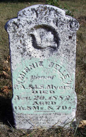MYERS, MINNIE BELLE - Shelby County, Iowa | MINNIE BELLE MYERS