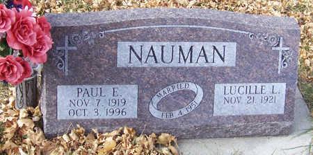 NAUMAN, PAUL E. - Shelby County, Iowa | PAUL E. NAUMAN