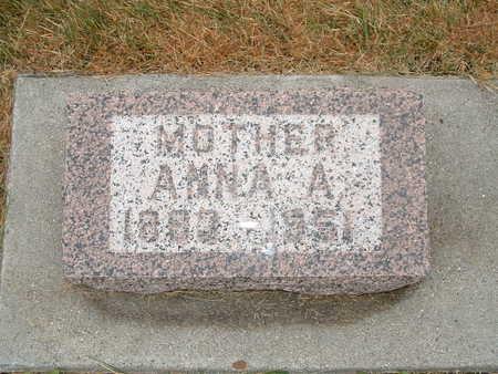 NELSEN, ANNA A - Shelby County, Iowa | ANNA A NELSEN