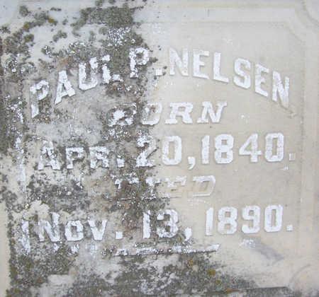 NELSEN, PAUL P. (CLOSE UP) - Shelby County, Iowa | PAUL P. (CLOSE UP) NELSEN