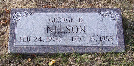 NELSON, GEORGE D. - Shelby County, Iowa | GEORGE D. NELSON