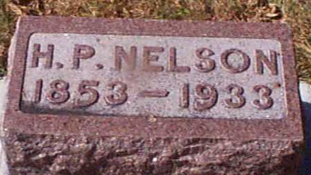 NELSON, H P - Shelby County, Iowa   H P NELSON