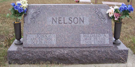 NELSON, MILDRED A. - Shelby County, Iowa | MILDRED A. NELSON