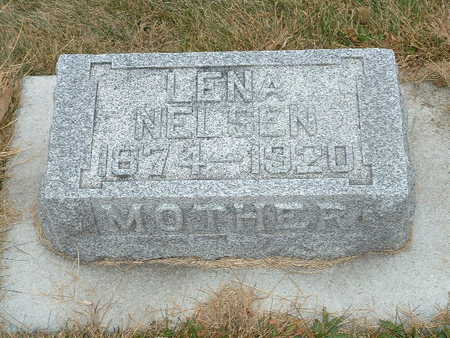 NELSEN, LENA - Shelby County, Iowa   LENA NELSEN