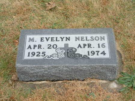 NELSON, MARGARET EVELYN - Shelby County, Iowa | MARGARET EVELYN NELSON