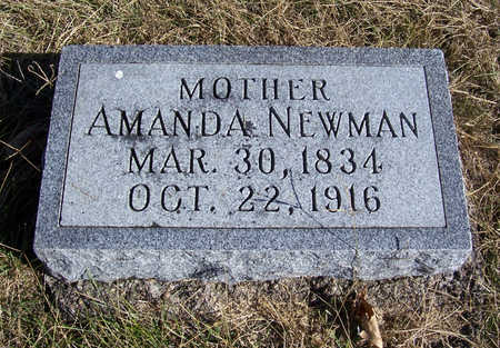 NEWMAN, AMANDA (MOTHER) - Shelby County, Iowa | AMANDA (MOTHER) NEWMAN