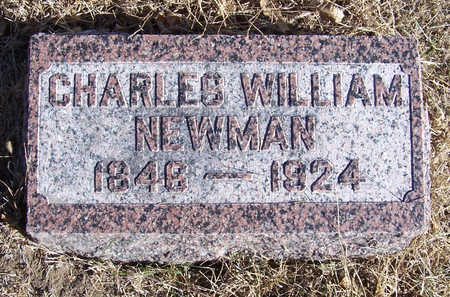 NEWMAN, CHARLES WILLIAM - Shelby County, Iowa | CHARLES WILLIAM NEWMAN