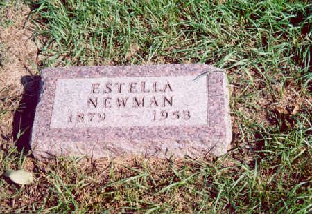 NEWMAN, ESTELLA - Shelby County, Iowa   ESTELLA NEWMAN