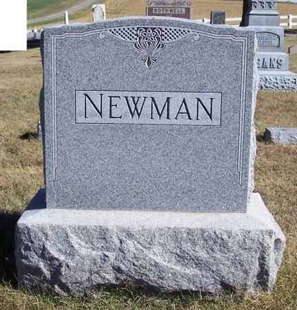 NEWMAN, GEORGE W. & AMANDA (LOT) - Shelby County, Iowa | GEORGE W. & AMANDA (LOT) NEWMAN