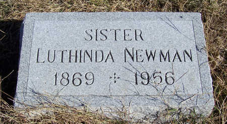 NEWMAN, LUTHINDA - Shelby County, Iowa   LUTHINDA NEWMAN