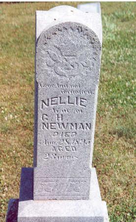 NEWMAN, NELLIE - Shelby County, Iowa | NELLIE NEWMAN