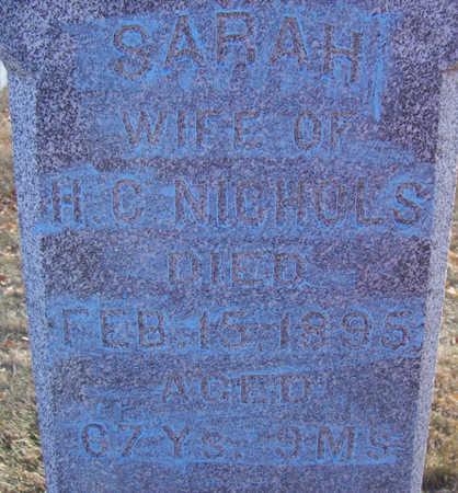NICHOLS, SARAH (CLOSE-UP) - Shelby County, Iowa | SARAH (CLOSE-UP) NICHOLS
