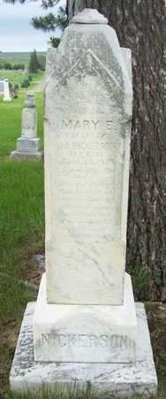 NICKERSON, MARY E. - Shelby County, Iowa | MARY E. NICKERSON