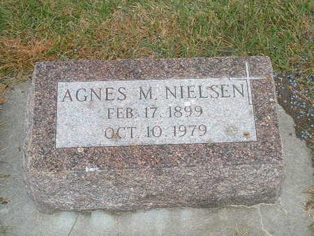 NIELSEN, AGNES M - Shelby County, Iowa | AGNES M NIELSEN