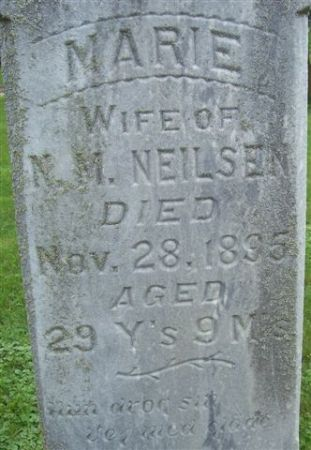 NIELSEN, MARIE (CLOSE-UP) - Shelby County, Iowa | MARIE (CLOSE-UP) NIELSEN