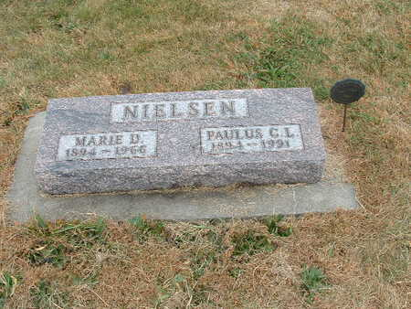 NIELSEN, MARIE D - Shelby County, Iowa | MARIE D NIELSEN
