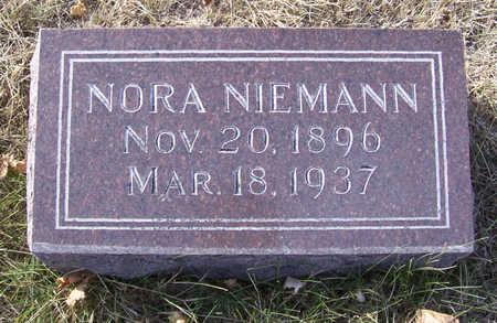 NIEMANN, NORA - Shelby County, Iowa | NORA NIEMANN