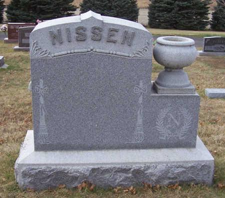 NISSEN, (LOT) - Shelby County, Iowa   (LOT) NISSEN