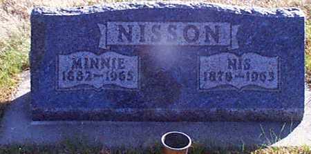 NISSON, MINNIE - Shelby County, Iowa | MINNIE NISSON