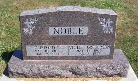 NOBLE, VIOLET - Shelby County, Iowa | VIOLET NOBLE
