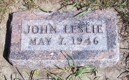 NOBLE, JOHN LESLIE - Shelby County, Iowa   JOHN LESLIE NOBLE