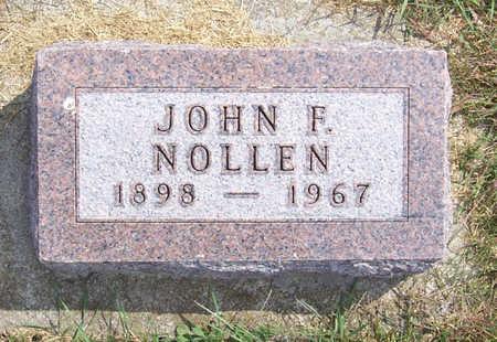 NOLLEN, JOHN F. - Shelby County, Iowa | JOHN F. NOLLEN