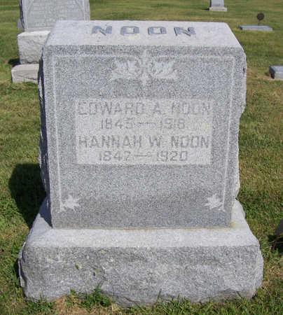 NOON, EDWARD A. - Shelby County, Iowa | EDWARD A. NOON