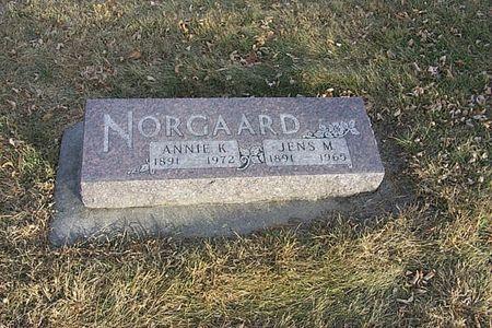 NORGAARD, ANNIE K. - Shelby County, Iowa | ANNIE K. NORGAARD
