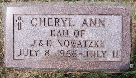 NOWATZKE, CHERYL ANN - Shelby County, Iowa | CHERYL ANN NOWATZKE