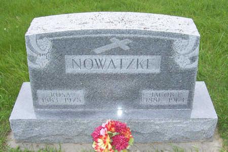NOWATZKE, ROSA M. - Shelby County, Iowa | ROSA M. NOWATZKE