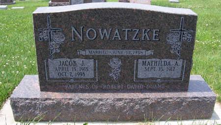 NOWATZKE, MATHILDA A. - Shelby County, Iowa | MATHILDA A. NOWATZKE