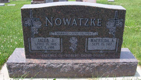 WINGERT NOWATZKE, MATHILDA A. - Shelby County, Iowa | MATHILDA A. WINGERT NOWATZKE