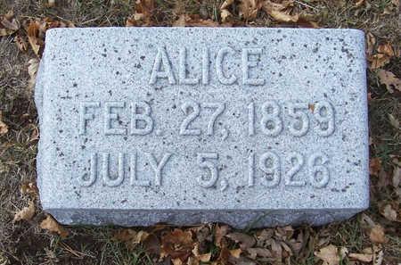 OATHOUT, ALICE - Shelby County, Iowa   ALICE OATHOUT