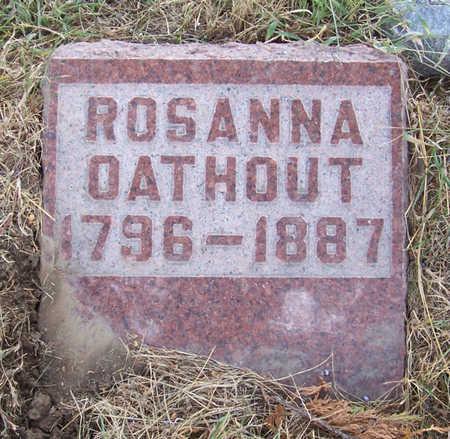 OATHOUT, ROSANNA - Shelby County, Iowa | ROSANNA OATHOUT
