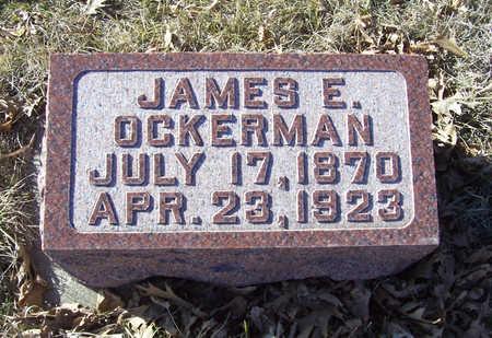 OCKERMAN, JAMES E. - Shelby County, Iowa | JAMES E. OCKERMAN