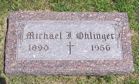 OHLINGER, MICHAEL J. - Shelby County, Iowa | MICHAEL J. OHLINGER