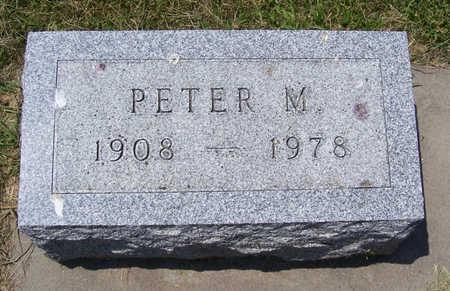 OHLINGER, PETER M. - Shelby County, Iowa | PETER M. OHLINGER