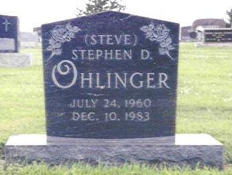 OHLINGER, STEPHEN DONALD - Shelby County, Iowa | STEPHEN DONALD OHLINGER